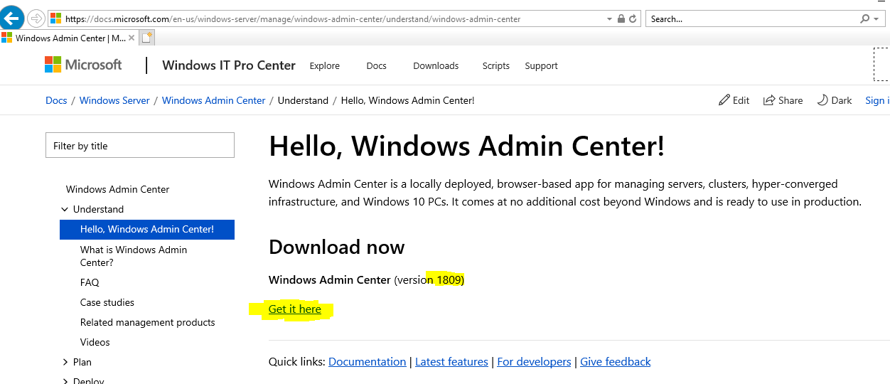 How to configure Storage Replica With Windows Admin Center